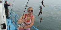 30 апреля, морская рыбалка на Днестровской банке