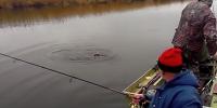 Рыбалка на Днепре. Март 2015.