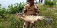 Рыбалка на гребном.