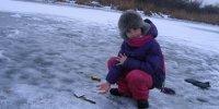 Зимняя рыбалка в Маяках
